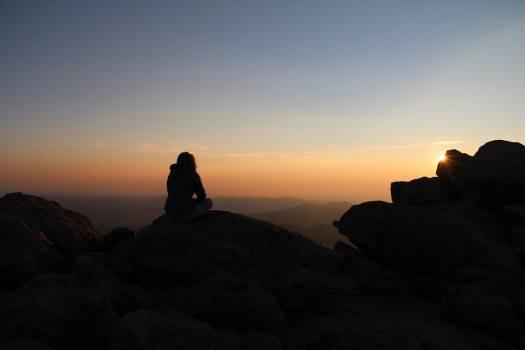 Mt Evans, CO - Sunrise Meditation at !4,265'