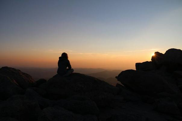 Mt Evans, CO - Sunrise Meditation at !4,265'